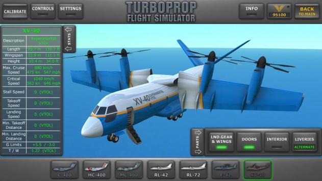 涡轮螺旋桨飞机模拟器3D截图1