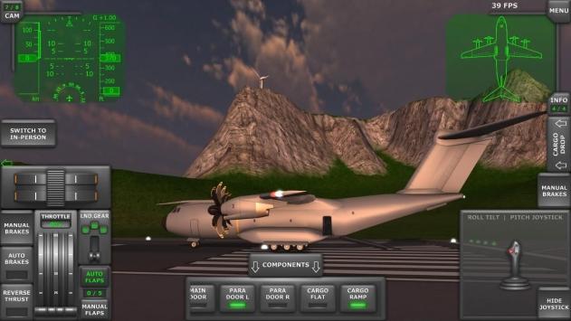涡轮螺旋桨飞机模拟器3D截图2