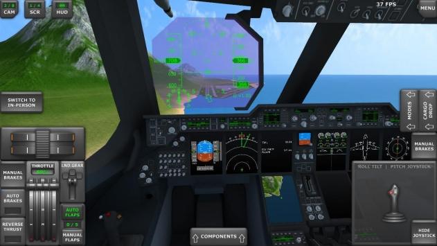 涡轮螺旋桨飞机模拟器3D截图3