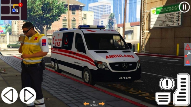 救护车模拟器2021截图2