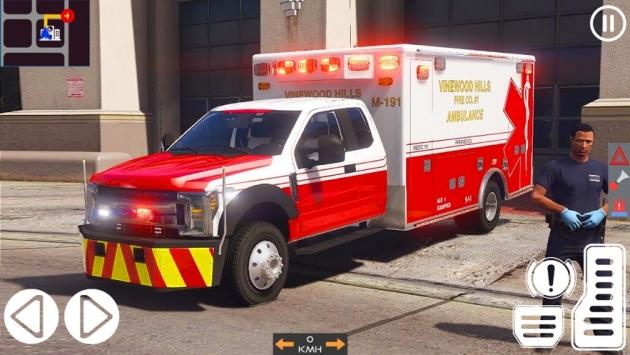救护车模拟器2021截图3