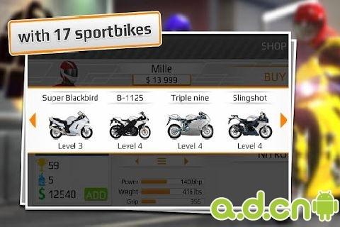 短程高速赛车:摩托车版 Drag Racing: Bike Edition v1.0.63截图2