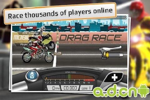 短程高速赛车:摩托车版 Drag Racing: Bike Edition v1.0.63截图3