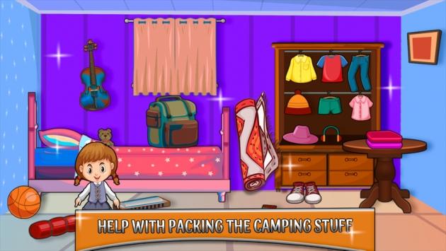 烧烤夏令营假期截图3