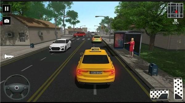 模拟出租车司机截图4