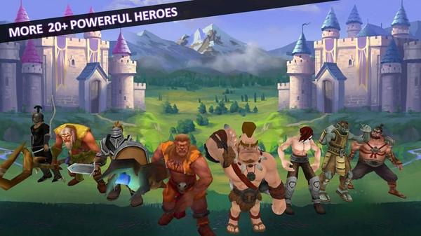 城堡英雄战斗截图3
