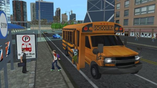 校车驾驶室模拟器截图1