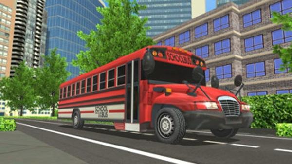 校车驾驶室模拟器截图3