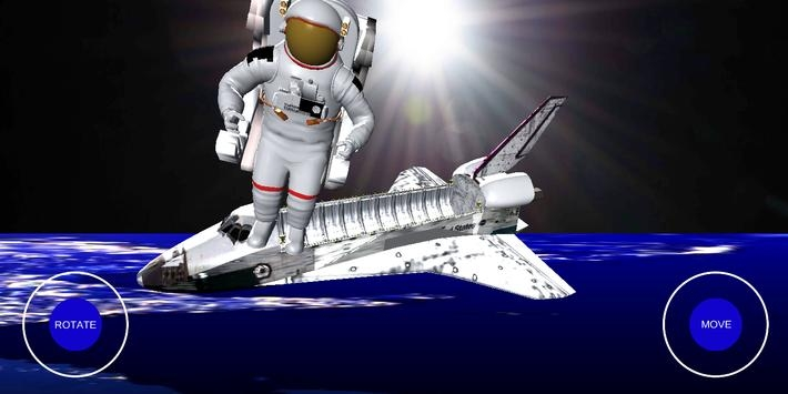 宇航员太空行走3D模拟器3