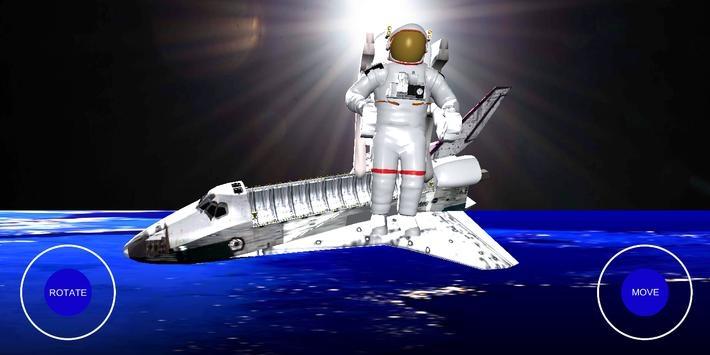 宇航员太空行走3D模拟器4