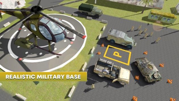陆军停车模拟器截图2