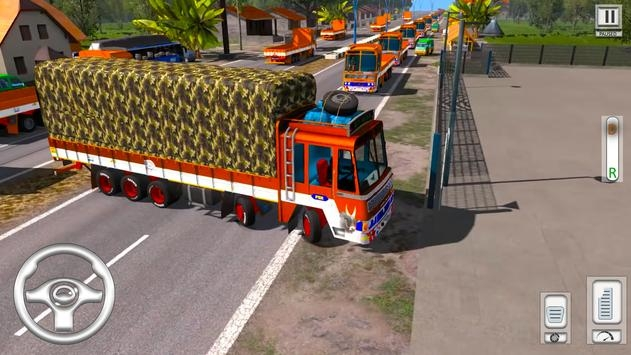 Cargo Truck Driving Games截图1