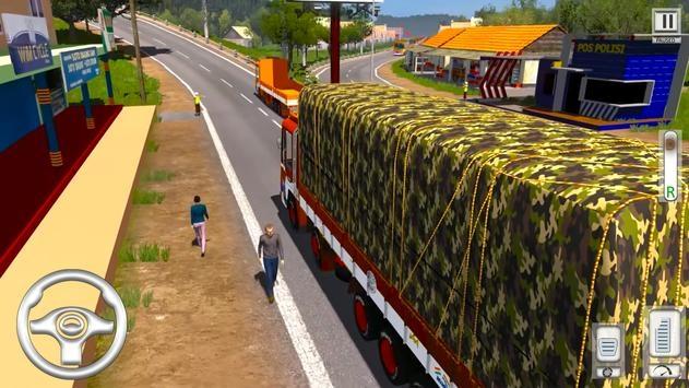 Cargo Truck Driving Games截图3