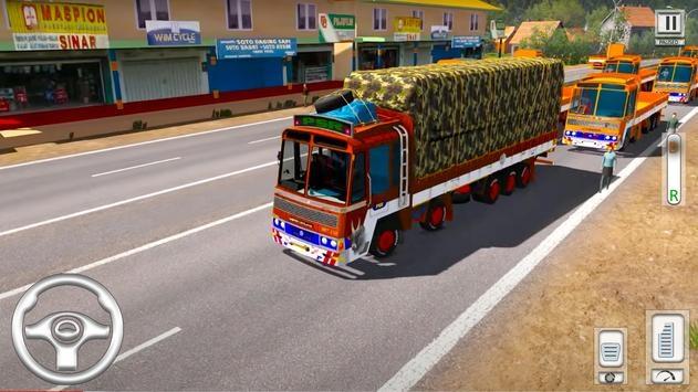 Cargo Truck Driving Games截图4