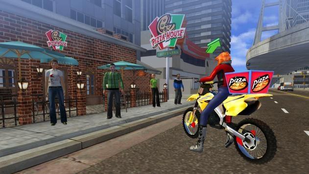 摩托披萨送货员截图1