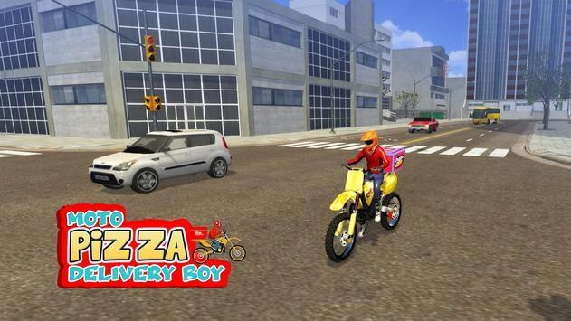 摩托披萨送货员截图2