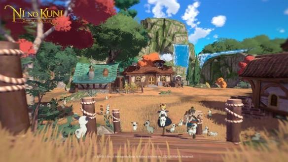 TGS20:手游《二之国交叉世界》参展东京电玩展2020 全新画面截图展示世界与登场角色插图(13)