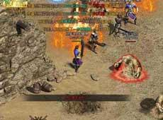 《传奇世界》游戏战斗画面截图赏析