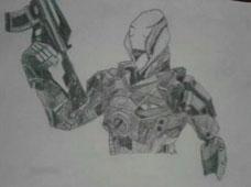 《生死狙击》玩家绘图欣赏之角色图