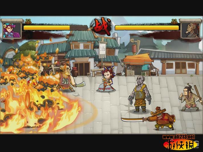 QQ水浒游戏图片欣赏